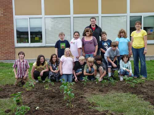 Ohio Street School Planting, Jefferson County